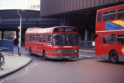 London Buses LS463 London Bridge Station Sep 90