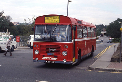 London Buses BL1 Totteridge Station 3 Sep 90