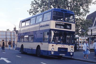 London Buses L272 Hayplace Road West Bexleyheath Sep 90