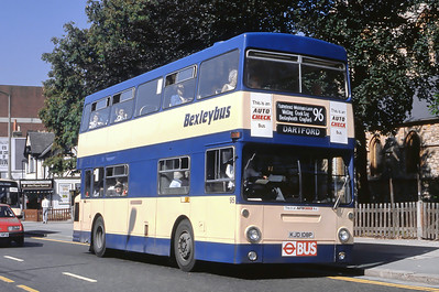 London Buses 95 Mayplace Road Bexleyheath London Sep 88