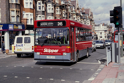 London Buses DR86 Finchley Rd Golders Green London Sep 94