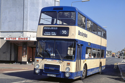 London Buses 20 Mayplace Road Bexleyheath London Sep 88