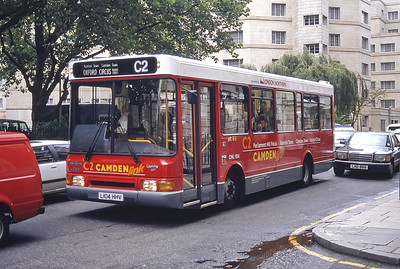 London Buses DNL104 Osnaburgh St London Sep 94