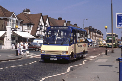 London Buses 36 Bexleyheath Railway Station May 89