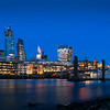 Captured at low tide on The Thames Southbank shoreline