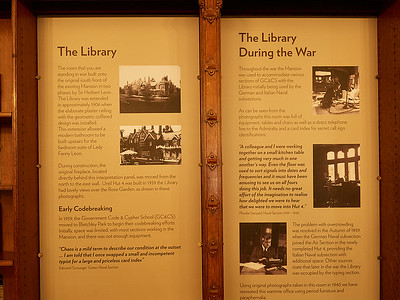 The Library at Bletchley Park