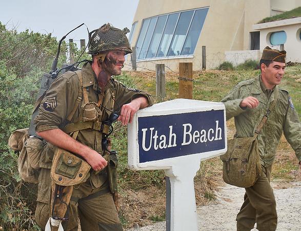Utah Beach, Normandy, France