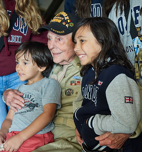 Honorable Veteran - age 97 years,  with children