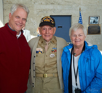 Honorable Veteran - age 97 years, with Ned and Maria