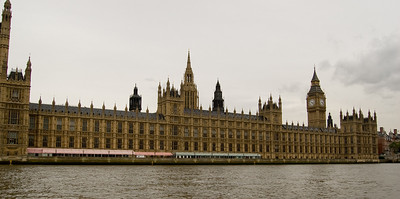 Houses of Parliament From the Thames (1)