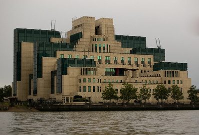 MI5 HQ You never saw this building.  You don't know where this picture came from.