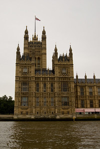 Houses of Parliament From the Thames (2)