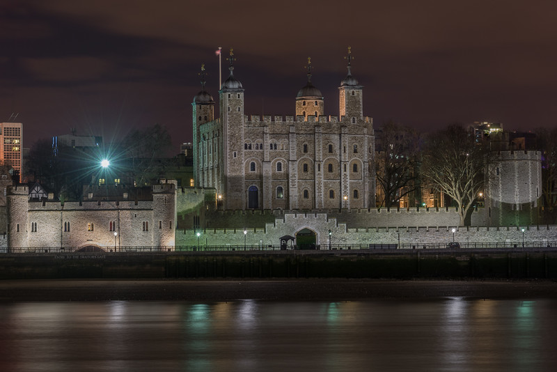 Tower Of London From Across River Thames