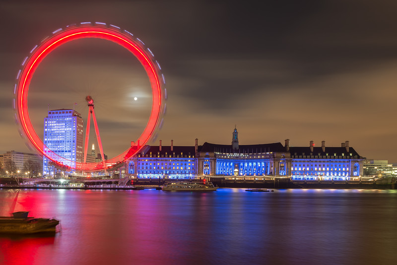 London Eye Long Exposure