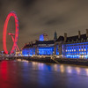 London Eye fro the Westminster Bridge