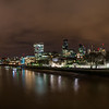 London from Tower Bridge