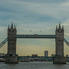 Tower Bridge from Thames River