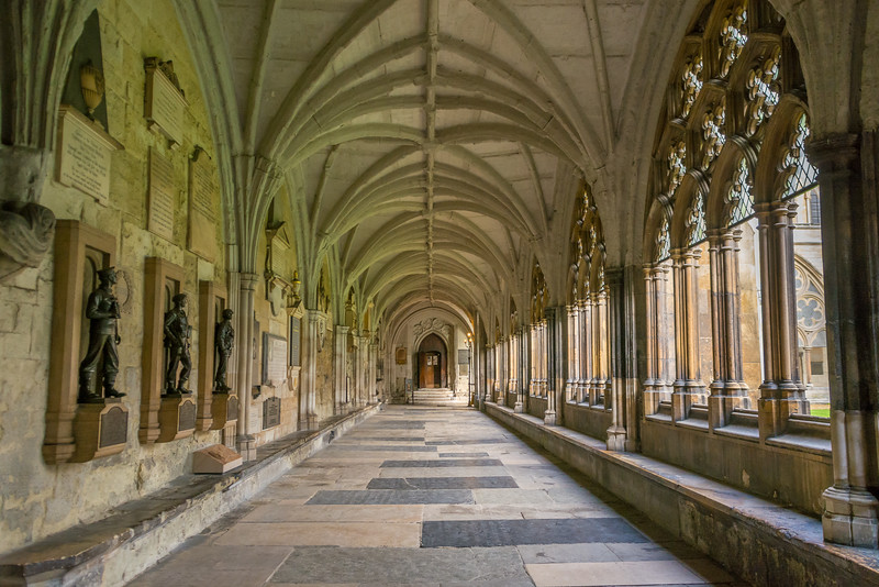 Westminster Abby Cloister Hallway