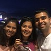 Birthday cake by South bank with  Neha and S!