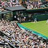 Wimbledon- watching Andy Murray play