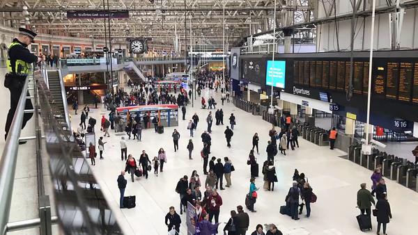 Waterloo Station (train and Underground)