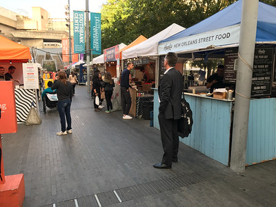 Athenian Greek Street Food market - every Friday evening