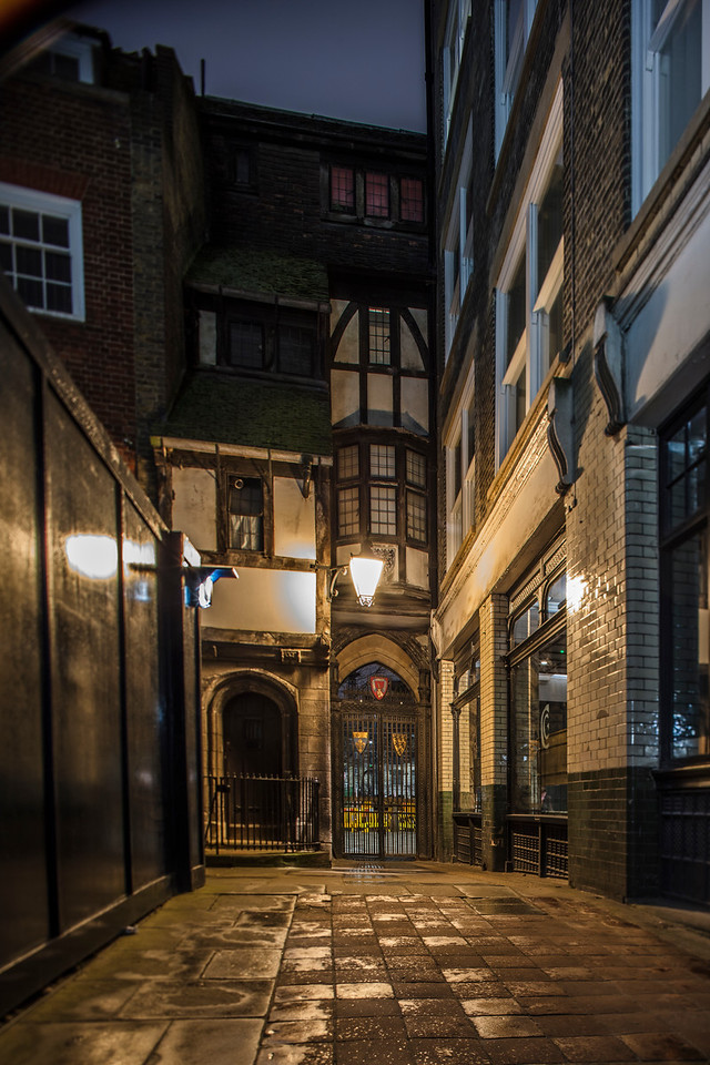 St Bartholomew The Great Church Alleyway, London