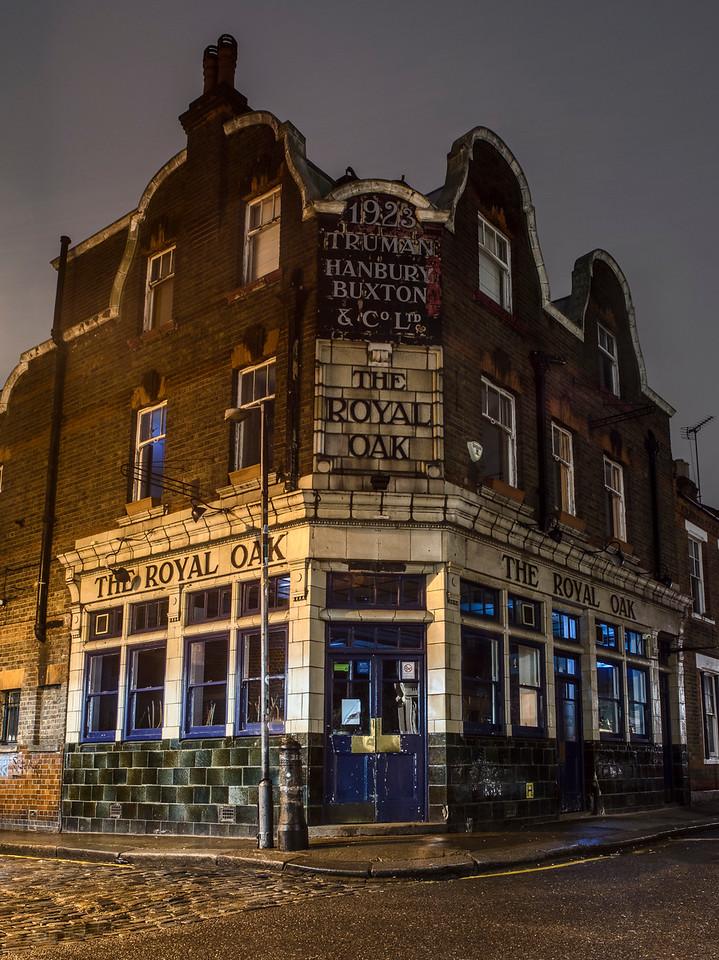 Royal Oak Pub in Columbia Road East London