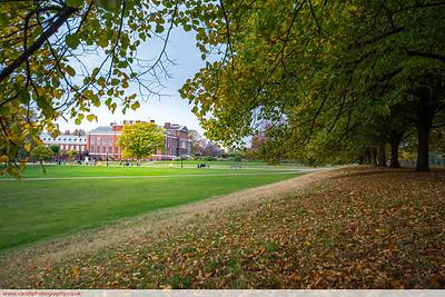 Kennsington Palace in Autumn
