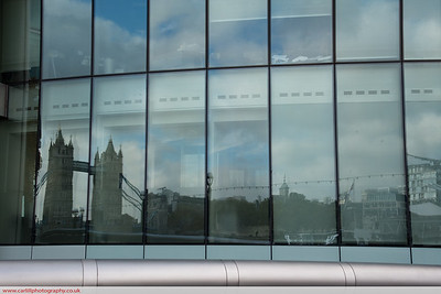 Reflections on Tower Bridge