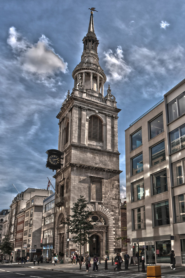 Bow Church in Cheapside London