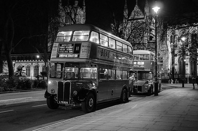 RT2775 and RML3 at Parliament Square