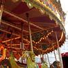 Carousel at a street fair on Regent St.