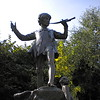 Peter Pan statue in Kensington Gardens.