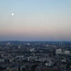 View of London at dusk from the London Eye.