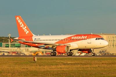easyJet Airbus A319-111 G-EZDK 9-14-19