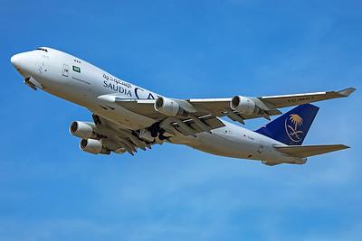 Saudi Arabian Airlines Boeing 747-412F TC-MCT 9-14-19