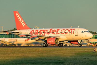 easyJet Airbus A319-111 G-EZBX 9-14-19