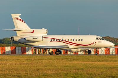 Exklusiv Aviation Dassault Falcon 900B TT-DIT 9-14-19