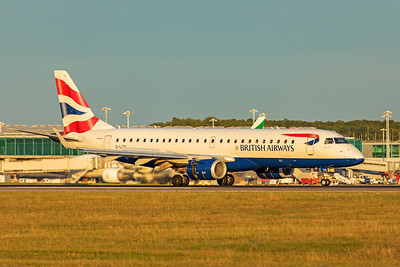 BA CityFlyer Embraer ERJ-190-100SR G-LCYL 9-14-19