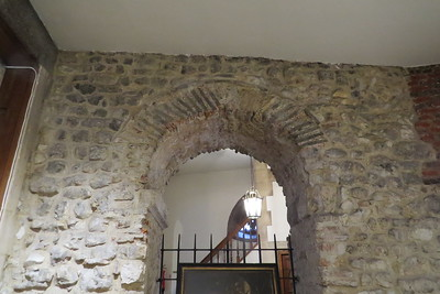 Arch dating from the Saxon origins of the church