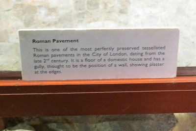 Roman Pavement info card