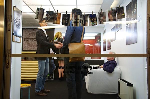 Subway Gallery London Underground photo exhibition tube150