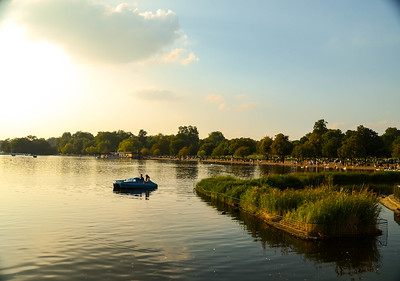 Serpentine Lake, Hyde Park, London