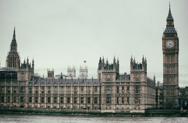 The Elizabeth Tower, Big Ben, and Parliament