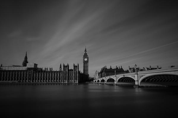 Big Ben with Clouds