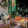 The Borough Market in Southwark, London.