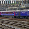 A Great Western Class 43 HST arrives at London Paddington.
