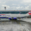 A two hour delay at Heathrow amid the 747s.