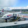 British Airways 777 at Heathrow.